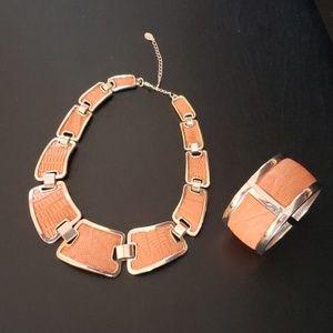 NWOT Aldo necklace and bracelet